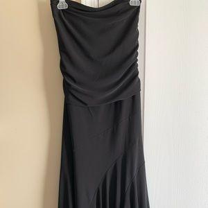 WOMENS BLACK TUBE DRESS(LIGHT USE) CLEAN